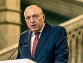 وزيرا خارجية مصر وإيطاليا يؤكدان رفض التدخلات العسكرية الأجنبية فى ليبيا