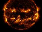 ناسا تشترك فى الاحتفال بالهالوين بصورة متوهجة للشمس