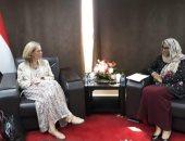 سفيرة بلجيكا بالقاهرة: الاتحاد الأوروبى والأمم المتحدة يرغبان فى دعم السودان
