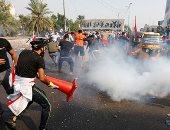 مقتل 4 محتجين بنيران قوات الأمن فى بغداد