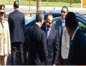 الرئيس السيسى يصل مقر المؤتمر العالمى للاتصالات بشرم الشيخ