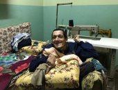 """""""يحيى"""" يعانى من الإعاقة الكاملة بجسده فى الغربية.. وأسرته: حلمنا معاش لعلاجه"""