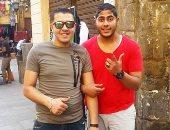 ننشر آخر صور تجمع محمد عيد وأحمد سمير ضحايا حادث قطار الإسكندرية