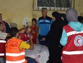 صور.. صرف إعانات لأهالى منطقة نادى الصيد المتضررين من الأمطار بالإسكندرية