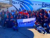 مصر للطيران الناقل الرسمى للاعبين المصريين المشاركين بطولة Ironman الدولية