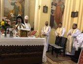 بطريرك الكاثوليك يترأس صلوات القداس بكنيسة الأقباط بروما فى ذكراها الـ 25