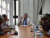 رئيس هيئة المساحة يجتمع مع اللجنة العليا للنقابات الفرعية لبحث أجور العاملين