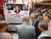 صور .. تعرف على فعاليات الملتقى التوظيفى الـ 39 فى ثانى أيامه بمدينة فرشوط