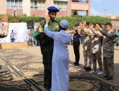 """صور.. """"تعليم كفر الشيخ"""" تحتفل انتصارات أكتوبر والمشروعات القومية"""