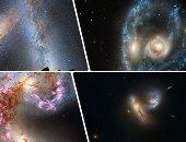 ماذا يحدث عندما تصطدم المجرات؟.. النجوم هتطلع برة المجرة والباقى هتبلعه الثقوب السوداء وهتندمج فى الآخر.. نهاية العالم قد تكون بسبب واحدة من هذه المعارك.. ومجرتنا معرضة لأكبر تصادم خلال 4 مليارات عام