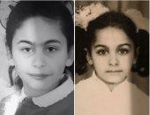 شاهد مى سليم وشقيقتها ميس حمدان طفلتين.. مين أحلى؟