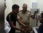 صرف الشاب المصاب فى حادث قطار الإسكندرية من النيابة بعد سماع أقواله