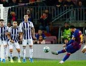 """برشلونة ضد بلد الوليد.. ميسى يقود البارسا للفوز بخماسية""""فيديو"""""""