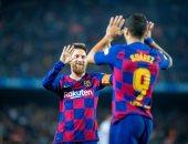 أهداف الثلاثاء.. برشلونة يكتسح بلد الوليد بخماسية فى الدورى الاسباني