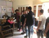 صور .. إقبال من الطلاب على الترشح لإنتخابات الاتحادات الطلابية بجامعة بنها