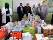 جامعة طنطا تنظم قافلة طبية للكشف بالمجان على أهالى قرية كفر المرازقة بكفر الشيخ