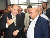 سفير الكويت يفتتح عدد من المشروعات الخدمية لأهالى قرى الفيوم..صور