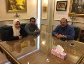 رئيس الأولمبية يعقد جلسة مع سارة سمير