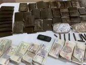 القبض على 55 تاجر مخدرات فى مداهمة لبؤر إجرامية بالجيزة