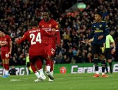 أوريجي يعيد ذكريات ريمونتادا برشلونة فى مباراة ليفربول ضد ارسنال