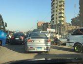 قارئ يشكو من عدم وجود إشارة أو شرطى مرور فى تقاطع السواح مع شارع بورسعيد
