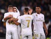 """ريال مدريد ضد سوسيداد.. الملكي يتقدم 2-1 في بداية الشوط الثاني """"فيديو"""""""
