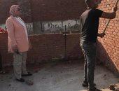 إيقاف 5 حالات بناء مخالف والتحفظ على مواد البناء شرق الإسكندرية