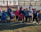 صور.. تشكيل أول فريق لكرة القدم أقزام بدمياط بعد ألعاب القوى ورفع الأثقال