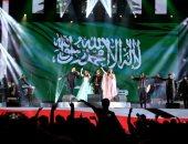 """صور.. نجوى كرم وديانا حداد تتألقان فى موسم الرياض تحت شعار """"ليلة بيروت"""""""