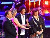 وزيرة الثقافة تكرم محمد منير وفاروق جويدة فى افتتاح مهرجان الموسيقى العربية