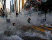 """احتجاجات فى هونج كونج على وفاة متظاهر فى """"شبه جزيرة كولون"""""""