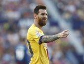 ليفانتى ضد برشلونة.. البارسا يتفوق بهدف ميسي فى الشوط الأول بالدوري الإسباني