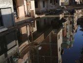 قارئ يشكو انتشار مياه الصرف الصحى بقرية المحمودية فى الشرقية