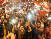 صور.. تواصل المظاهرات والاعتصام فى مدينة طرابلس اللبنانية