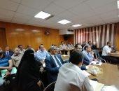 صحة القليوبية: تنفيذ رفع كفاءة الأقسام بالمستشفيات والتأكيد على خطة مواجهة السيول والأمطار