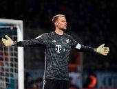 نوير يحافظ على نظافة شباكه أمام 35 فريقا فى تاريخ الدوري الألماني