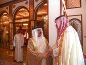ملك البحرين يستقبل الأمير تركى بن محمد بن فهد عضو مجلس الوزراء السعودى