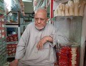 """حلاوة زمان عروسة وحصان.. """"عم حامد"""" يكشف حكايات صناعة حلوى المولد النبوي"""