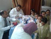 """صحة دمياط تمنع تناول عقار """"فلاجيل"""" لطلاب المدارس قبل حملة تطعيم الطفيليات"""