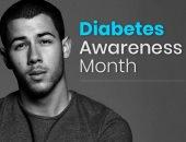 نيك جوناس يحكى تجربته عن مرض السكر النوع 1 فى شهر التوعية