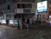 تنفيذ 3 قرارات إزالة لأبنية مخالفة غرب الإسكندرية