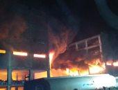 السيطرة على حريق مصنع قليوب بعد محاولات استمرت 8 ساعات