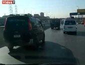 فيديو.. اعرف حالة المرور أعلى الطريق الزراعى من مدينة طوخ حتى المؤسسة