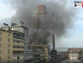 الحماية المدنية بالقليوبية تسيطر على حريق سيارة سولار أعلى دائرى الخصوص