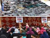 استقرار أسعار الأسماك اليوم بسوق العبور والبطى الأسوانى يبدأ من 15جنيها
