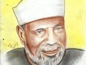بالفحم والرصاص وأقلام الألوان.. أحمد يشارك بصور موهبته فى رسم اللوحات