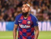 حكم الفيديو يلغى هدفًا لصالح برشلونة ضد سلافيا براج بدوري الأبطال