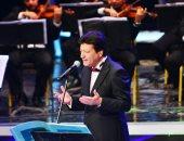 محمد الحلو يطرب جمهور الأوبرا بحفل على مسرح النافورة