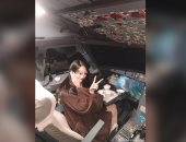 وقف طيار صينى عن الطيران مدى الحياة لسماحه بتواجد سيدة داخل قمرة القيادة