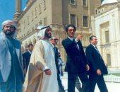فاروق حسنى يحيى ذكرى الشيخ زايد بصورة وكلمة مؤثرة على فيس بوك